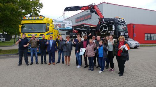 """Pressekonferenz """"Wunderland Kalkar on Wheels 2019"""" (Organisatoren, Sponsoren, Unterstützer)"""