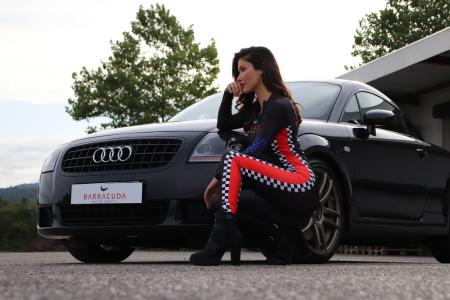 Chic shoes for the Audi icon: 18-inch Barracuda rims for the original TT top model