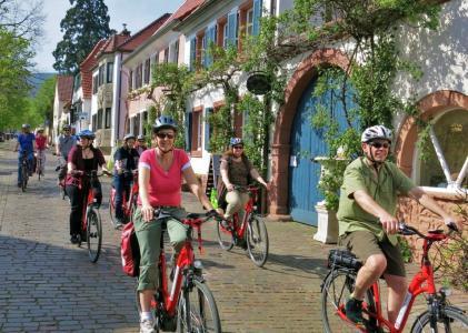 genussradeln-pfalz  organisiert geführte  Stern-Radreisen  in  der  Pfalz