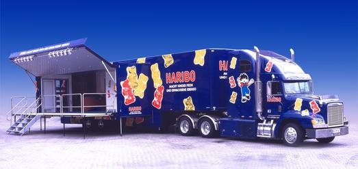 Die HARIBO-Truck Tour 2014: Ideal für Familien!