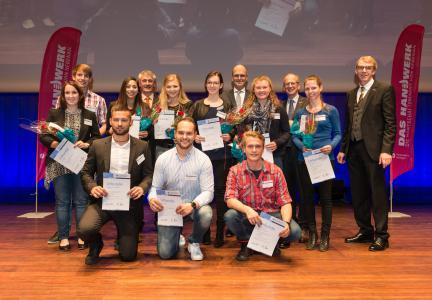 plw-reutlingen.jpg: Die ersten Landessieger – die in der Stadthalle Reutlingen kürzlich ausgezeichnet wurden – stellten sich auf Bundesebene der Konkurrenz