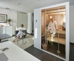 Ein normales Arbeitszimmer - das auf Bedarf fast Hotelfeeling versprüht