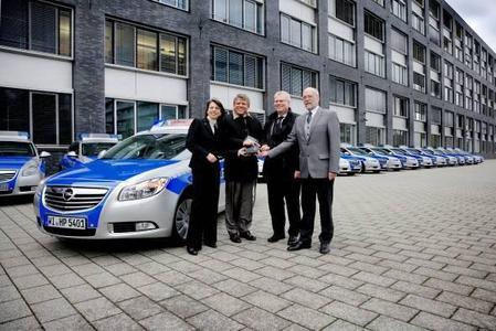 Hessische Polizei setzt auf den Opel Insignia Sports Tourer
