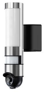 VisorTech LED-Aussenwandleuchte und WLAN-HD-Kamera