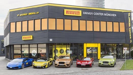 Pirelli eröffnete in München die erste PZero World in Europa