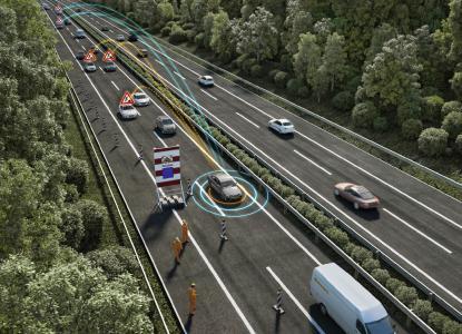 Mit 5G und direkter Kommunikation: Hybride V2X-Plattform von Continental sorgt für mehr Verkehrssicherheit / Continental AG