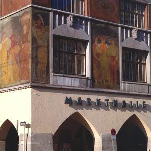 Die zwischen 1911 und 1914 erbaute Stuttgarter Markthalle gilt als eines der bedeutendsten Gebäude seiner Gattung in Deutschland.