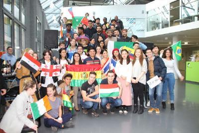 Die internationalen Studierenden fühlen sich wohl in Wildau