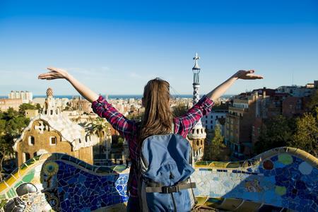 lastminute.de Touristin Barcelona
