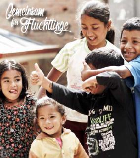 "Aktionsbündnis ""Gemeinsam für Flüchtlinge"" © Cover: STA/leoadri/123RF"