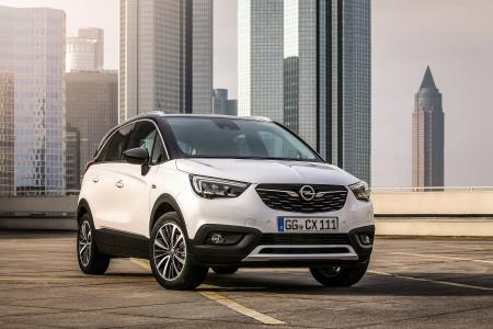 Cool crossover: Prices for the new Opel Crossland X start at attractive €16,850 incl. VAT