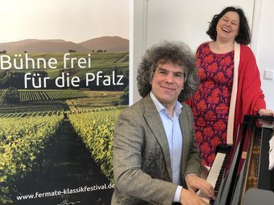 das Musiker-Ehepaar Ilse und Christoph Berner - die Initiatoren von fermate