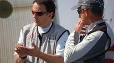 Alinghi begins multi-hull training on Foncia with Alain Gautier