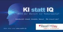 """RealFM Day 2019 in Stuttgart zum Thema """"KI statt IQ – Wird der Mensch zur Nebensache?"""""""