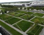 Vom Garagendach bis zum Parkhaus können mit Dachbegrünung Biotope geschaffen werden.