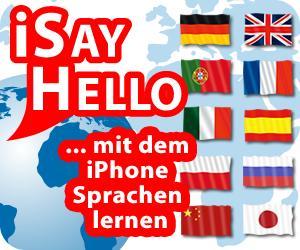 mit dem iPhoneApp iSayHello entspannt Sprachen lernen