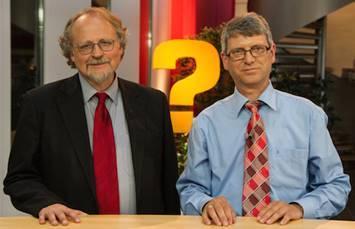 Prof. Heiner Bielefeldt (links) und Dr. Harald Mueller / © Foto: Gerald Förster/Hope Channel