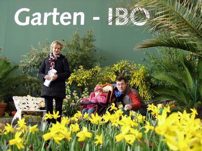 Bei botanischen Raritäten auf der IBO blühen Hobbygärtner auf