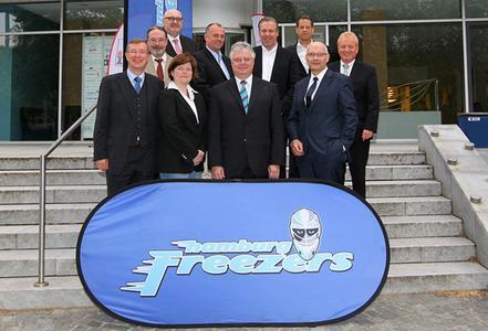 Dr. Andreas Mattner als Präsident des Hamburg Freezers e.V. wiedergewählt / Foto: Oliver Hardt
