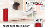 Exklusiv bei Gütermann: Micro Core Technology® für schöne und starke Nähte (Foto: Gütermann GmbH)