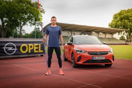 Opel Corsa e Niklas Kaul.