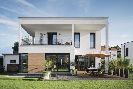 WeberHaus Kundenhaus Blum Außenansicht