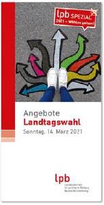 """Broschüre """"Angebote zur Landtagswahl 2021"""""""