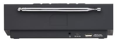NX 4371 7 VR Radio Digitales DAB FM Stereo Radio mit Wecker