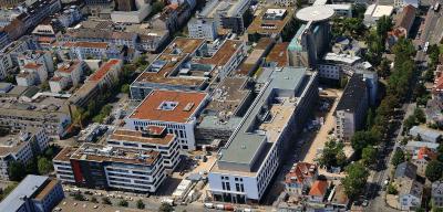 Klinikum Darmstadt Ausschnitt
