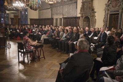 Etwa 140 Gäste feiern das fünfjährige Bestehen des Konfuzius-Instituts in Bremen / Fotograf: Karsten Klama