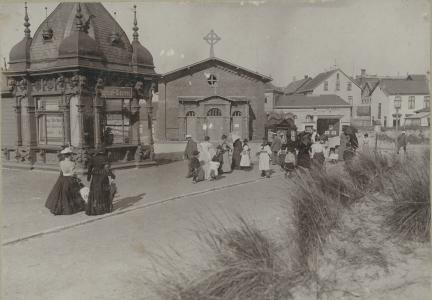 Strandstraße Borkum (Quelle: Heimatverein Borkum)