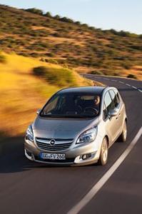 Neuer Opel Meriva: Edler Auftritt mit neuen, Euro 6-konformen Motoren, neuen reibungsarmen Getrieben und IntelliLink-Infotainment-System, © GM Company