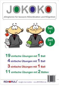 JOKOKO-Set 1+2 - www.JOKOKO.Jonglierschule.de