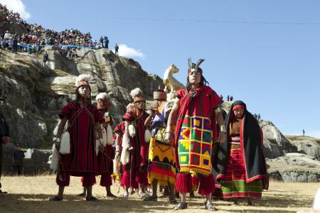 Inti Raymi Sonnenwendfest, Cusco Peru. Copyright PromPeru.