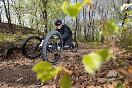 Percorso Murat Pelit – neuer Trail für Menschen mit Gehbehinderungen im Mendrisiotto / Bild: Mendrisiotto Turismo/Jacques Perler