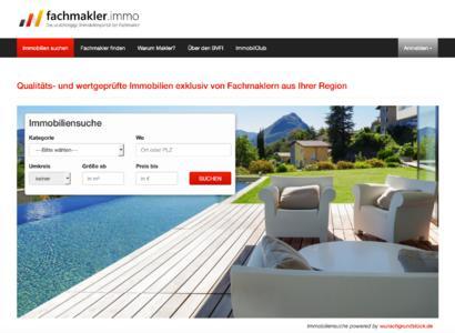 Das neue Immobilienportal der Maklerschaft: fachmakler.immo
