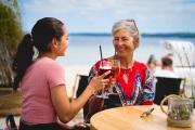 Für unbeschwerte Momente am Strand sorgen knapp 20 Beach Lounges an der Ostsee Schleswig-Holstein. Bild: www.ostsee-schleswig-holstein.de
