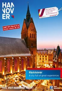 Mit Zeitungsbeilagen und weiteren Marketingaktivitäten wirbt die Hannover Marketing und Tourismus GmbH (HMTG) jetzt im Ausland für einen Besuch in der Urlaubsregion Hannover.