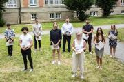 Die Bachelor- und Masterabsolvent*innen des Sommersemesters 2020