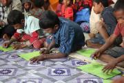 Rohingya in Bangladesh, Foto: © Kindernothilfe/Herrmanny