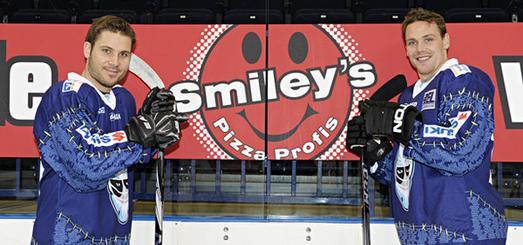 Pizza für die Freezers: Smiley's neuer Partner
