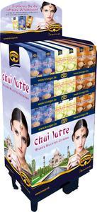 Kultgetränk aus Indien: Krüger Chai Latte mit attraktivem Display im Handel