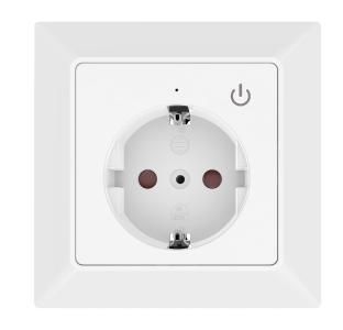 Luminea Home Control WLAN-Unterputz-Steckdose mit App, für Siri, Alexa & Google Assistant