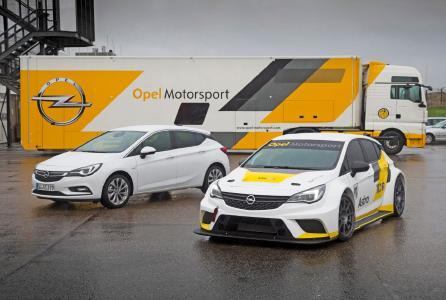 Opel Motorsport: Der neue Astra TCR als Highlight der Jubiläumsveranstaltung