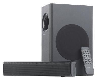 ZX 1727 02 auvisio 2.1 Soundbar und externer Subwoofer