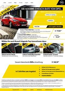 """""""Die SOOOH!-Einfach-Rate von Opel!"""": Schnell, einfach und transparent - der neue Ratenrechner auf opel.de hilft. Foto Adam Opel AG"""