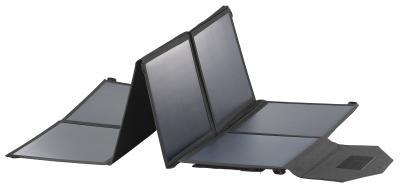 NX 2743 02 revolt Mobiles faltbares Solarpanel. 8 monokristalline Solarzellen 100 Watt / Copyright: PEARL.GmbH / www.pearl.de