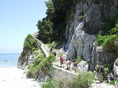 Griechenland, Pilion, typischer Kalderimi
