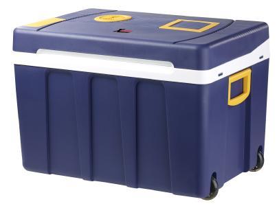 Xcase Thermoelektrische XXL-Trolley-Kühl- & Wärmebox, 12/24 & 230V, 50 Liter