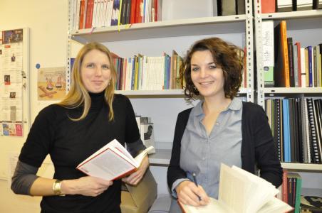 Dr. Mirjam Meuser und Sophie Pueschel / Foto: Theater Heilbronn